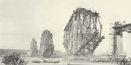 Building of the Forth Rail Bridge